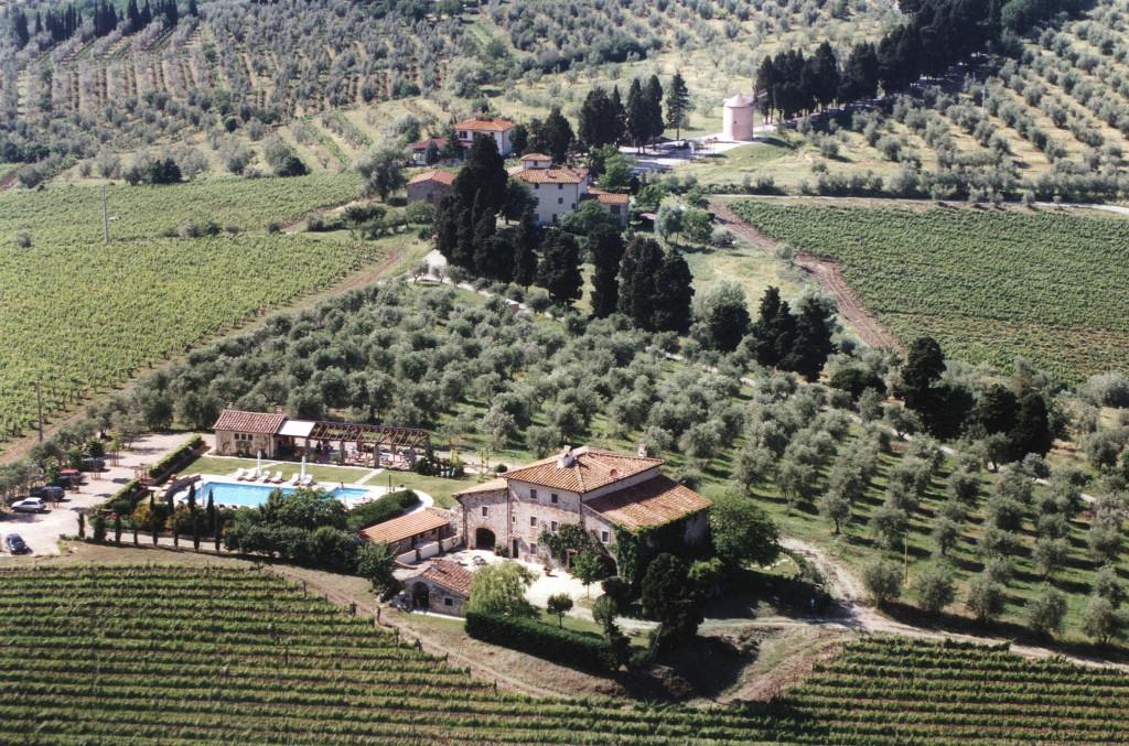 Panoramica fattoria